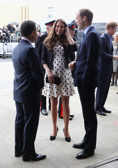 Kate Middleton Photos - The Duke And Duchess Of Cambridge And Prince Harry Attend The Inauguration Of Warner Bros. Studios Leavesden - Zimbio.   April 26 2013