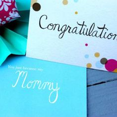 Congratulations Are in Order #mummumcards • Shop for quality, unique line greeting cards at http://mummumcards.com