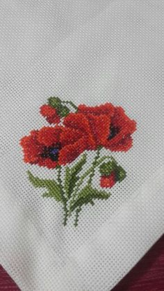 Poppies Cross Stitch Kit from |
