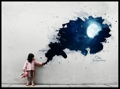 1000 ideas about moon painting on pinterest fantasy for Muebles elbume