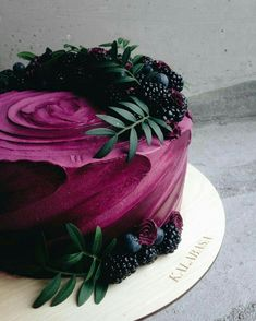 #Cake #Cakes #Treat #Purple #Berries #Yummy #Foodie #Food #Follow #Follow4Follow
