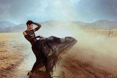 The Vogue US November 2012 Cover Shoot Stars Popstar Rihanna #rihanna trendhunter.com