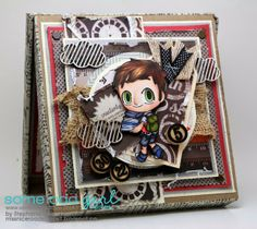 A World of Creative Possibilities Birthday Cards For Men, Copics, Drawer, Stamp, My Love, Box, Handmade, Color, Snare Drum