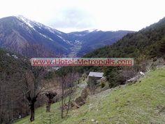 Vista de nuestras montañas y paisajes de Andorra
