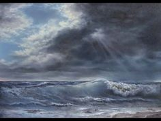 Paint with Kevin Hill - Sunlight Across the Surf - YouTube