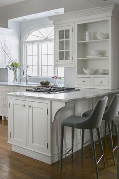 What You Need to Know About Small Kitchen Peninsula Ideas Open Concept Take time to consider about the space you need to work with and how you want to utilize your kitchen. The kitchen remains the hub… Kitchen Redo, New Kitchen, Kitchen Dining, Kitchen Ideas, Dining Room, Condo Kitchen, Awesome Kitchen, Updated Kitchen, Design Kitchen