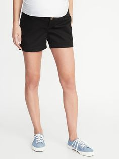 83dcfaa2c1b60 Old Navy Maternity Side-Panel Everyday Shorts - 5-inch inseam 2019 Maternity  Side