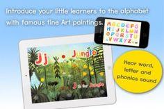 Art ABC App - Brilliant way of introducing art to little ones!