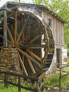 Water Wheel at Hardy, Arkansas  Hardy, Arkansas ... Great little town