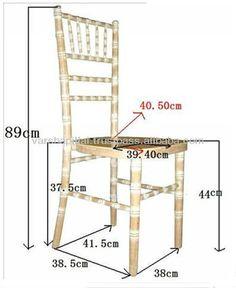 Chivari Chair Dimensions