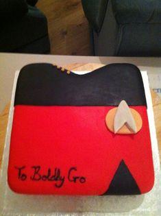 Star Trek Cake - Live Long and Prosper