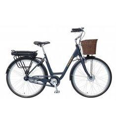 sykkel + kurv, ikke nødvendivis sånn gammel kul uten gir