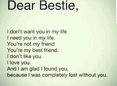 Letters To Your Best Friend  Google Search  Best Friends