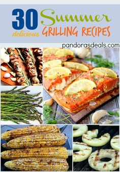 One of my favorite things about warmer weather is cooking and eating outside. Check out these 30 delicious summer grilling recipes for some BBQ inspiration. #2 is my favorite for a unique side!