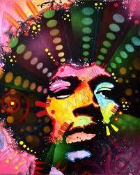 Jimi Hendrix by Dean Russo Art Jimi Hendricks, Jimi Hendrix Poster, Pop Art, Dean Russo, Painting People, Arte Pop, Mixed Media Painting, Art Festival, Psychedelic