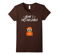 Womens Bumps First Halloween Pregnancy Shirt  If you are pregnant and expecting your baby on Halloween this pregnancy halloween shirt is perfect gift for you ! Great Halloween maternity shirt for pregnant women . Halloween pregnancy funny shirt unique Halloween maternity costume idea . Halloween Pregnancy Shirt, Pregnancy Costumes, Pregnant Halloween Costumes, Funny Pregnancy Shirts, Funny Shirts, First Halloween, Women Halloween, Cute Halloween, Halloween Shirt