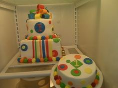 Primary Colors Cake