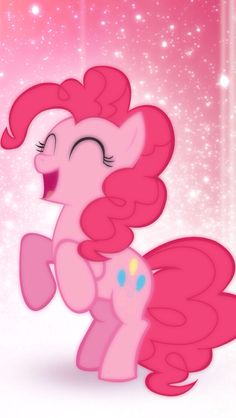 Happy funny pinkie pie