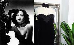 1950s Fashion Dresses, 1980s Dresses, Vintage Dresses, Old Hollywood Dress, Hollywood Glamour, Cocktail Dress Prom, Black Cocktail Dress, Grace Kelly Dresses, Ball Dresses
