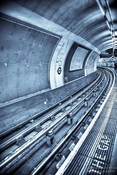 London Tube - great pic! Had to pin this. It's beautiful AND, even though stuffy and crowded, the best transportation system I've experienced (okay, NYC is pretty good).