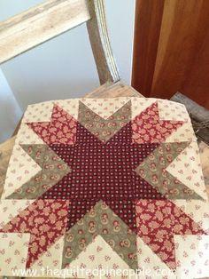 Blogger Girls BOM-Block 1. Open Gate Quilts free quilt sew-a-long