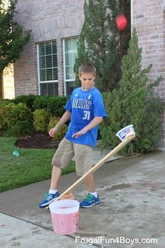 How to build a water balloon launcher. Awesome engineering project for summer!