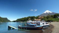 Lago de Todos Los Santos com o imponente Vulcão Osorno ao fundo Sur Chile, Mount Rainier, Mountains, Nature, Travel, Screenwriting, Lakes, City, Naturaleza