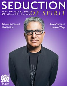 Seduction of Spirit - Glossi Magazine by Chopra Center