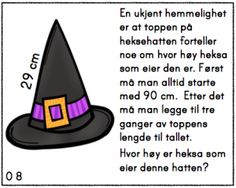 Skjermbilde 2015-10-25 kl. 21.46.12 Word Problems, Education, Math, Halloween, Words, Children, School, Young Children, Boys
