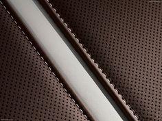 Audi A8 seat stitching