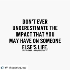 Love this. Tag someone who has impacted your life in some way and may not know it! #love #… http://ift.tt/1fb03F1
