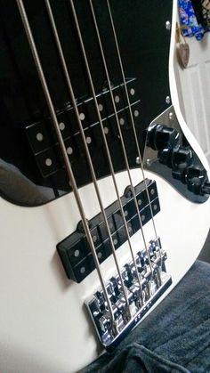 Day 201 - It's all mine. My own Fender Modern Player 5 string Jazz bass