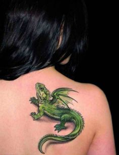 30+ Incredible Lizard Tattoos with Meanings | Cuded