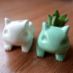 animal shaped planters come to me!