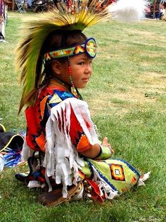 """I love the REGALIA. Disheartening to see so many people writing in """"costume"""". It is not a dress-up - it's a culture. Love seeing this boy in his traditional regalia."""
