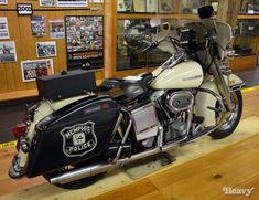 1976 Harley-Davidson FLH 1200 - Memphis, TN Police