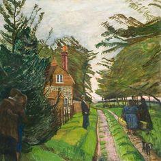 Carel Victor Morlais Weight ( UK,1908-1997) Pastoral Life 1958