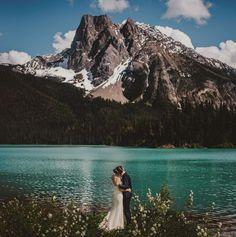 Unbelievably beautiful wedding backdrop | Gabe McClintock Photography
