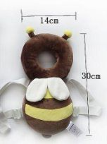 Soft Toddler Headrest Pillow Cartoon Bee Pillow Baby Infant Walking Soft Toddler Headrest Pillow Cartoon Bee Pillow Baby Infant Walking Head Back Protection Protector Safety Pad Harness Cushion Cute Pillows, Baby Pillows, Cartoon Bee, Baby Illustration, Baby Massage, Baby Sewing Projects, Baby Head, Kids Corner, Baby Crafts