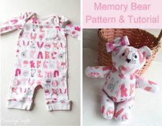 Memory Bears Free Patterns  Video Tutorial