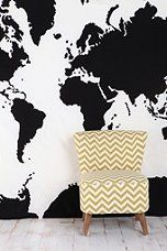 What can I say...I love maps. Urban Outfitters - Atlas Tapestry