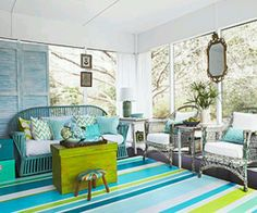 I like the crisp look -bright cheerful colors!