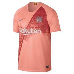 a48fbd0bb97 2018/19 FC Barcelona Stadium Third Men's Soccer Jersey Size S (Light Atomic  Pink