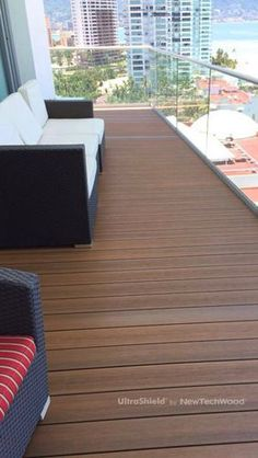 UltraShield Composite Decking in Mexico, please visit www.newtechwood.com for more information.