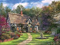Hideaway Cottage-550 Puzzle