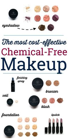 There are serious toxins in cosmetics these days! This is the best toxic chemical free makeup you'll find for an awesome price. There are serious toxins in cosmetics these days! This is the best toxic chemical free makeup you'll find for an awesome price. Clean Makeup, Eye Makeup Tips, Makeup Ideas, Makeup Eyebrows, Makeup Geek, Makeup Tutorials, Be Natural, Natural Makeup, Natural Beauty