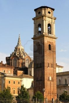 Ancient Architecture in Torino, Italy,