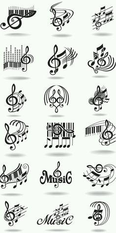 music treble clef clip art, piano