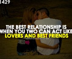 This is me and Matt for sure. I am so blessed to of fallen in love with my true best friend.