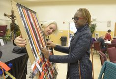 """ATTLEBORO - The declaration that """"Racism is dead"""" may have stunned the small but attentive crowd Saturday at LaSalette Shrine's Welcome Center."""